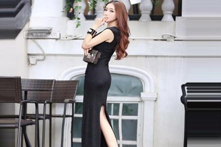 开叉长裙上衣怎么搭配?这五款穿搭尽显女性魅力做个迷人小妖精