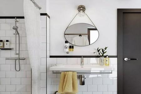 女性家居风尚超强的卫生间,不怕洗澡蹲坑踩水