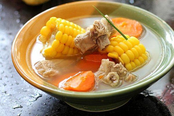 玉米排骨汤的功效与作用