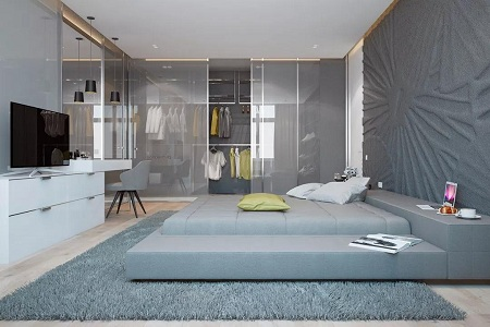 女性时尚家居设计,2019年流行的衣柜设计