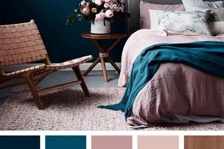 女性时尚家居风尚,好的颜色搭配就是舒服