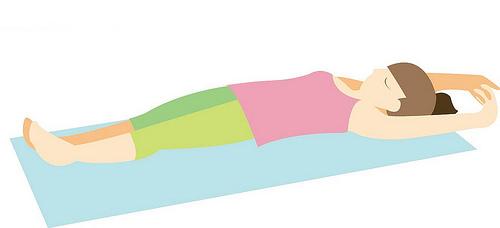 早上3分钟左右伸展,让歪斜骨盆归位