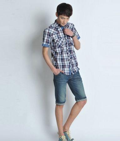 男士短袖衬衫,选择及搭配原则!