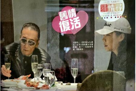 谢贤与小49岁女友CoCo再度复合 谢贤娶过两任老婆情史深扒