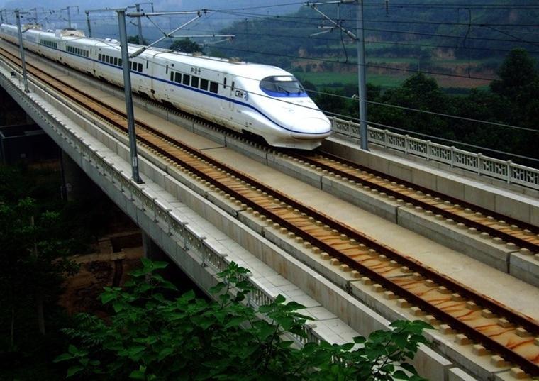 外媒惊叹中国高铁的前进速度 称排在世界第一