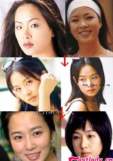 金素妍整容前后对比照 金素妍整容了吗 金素妍整容照片(4)