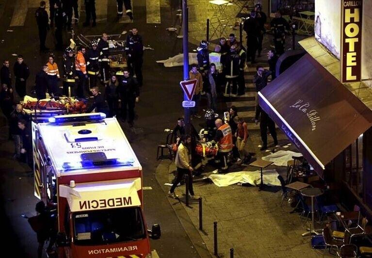 美国餐厅发生枪击 两名男子当场死亡现场一片混