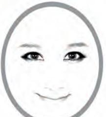 圆形脸女生适合的发型设计