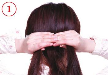 2012流行发型 自然随性反编辫(2)