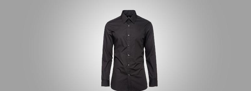 领带夹一般夹在衬衣纽扣的什么位置