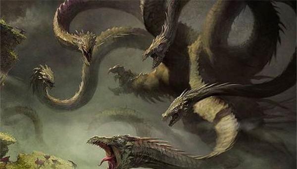 水神共工最强的手下相柳 相柳是最早的九头蛇