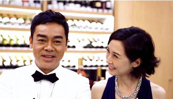 刘青云老婆郭蔼明是谁 两人因戏结缘婚后甜蜜幸福