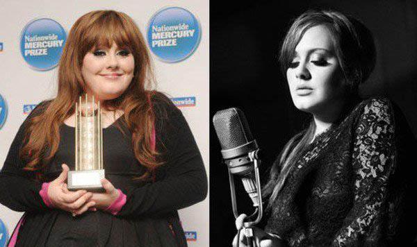 阿黛尔变胖前后对比照曝光 路人到巨星胖女孩时尚进化曝光