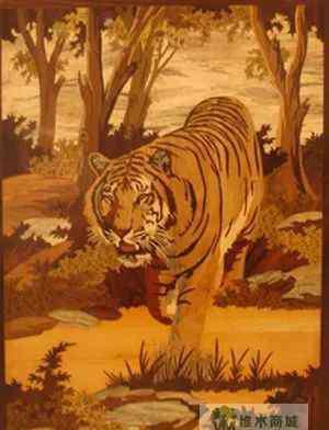 霸气的老虎 老虎纹,木皮界最霸气的纹理之一!