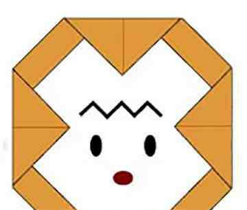小动物简单折法 8种简单的动物头像折法,适合小朋友学习!