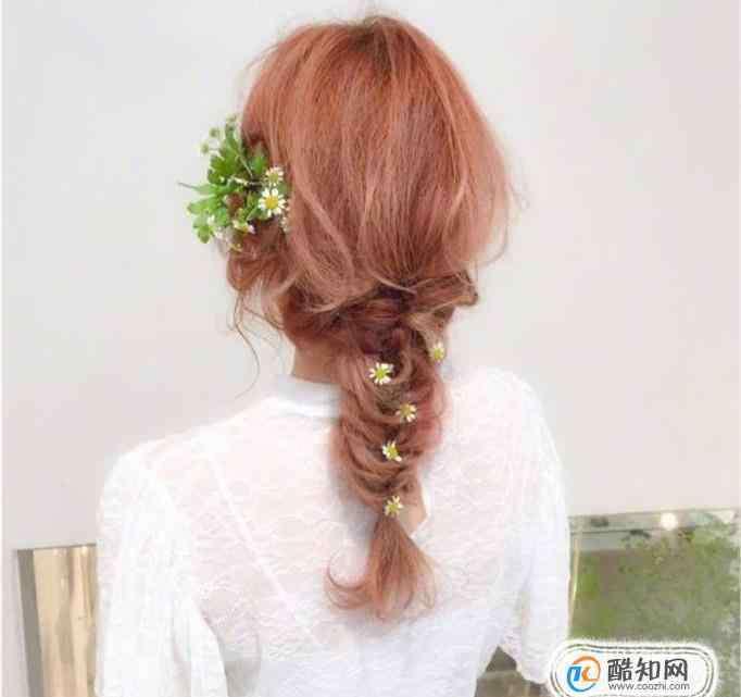 怎么编头发 花环头发型怎么编