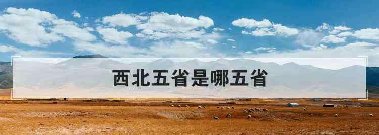 西北五省 西北五省是哪五省