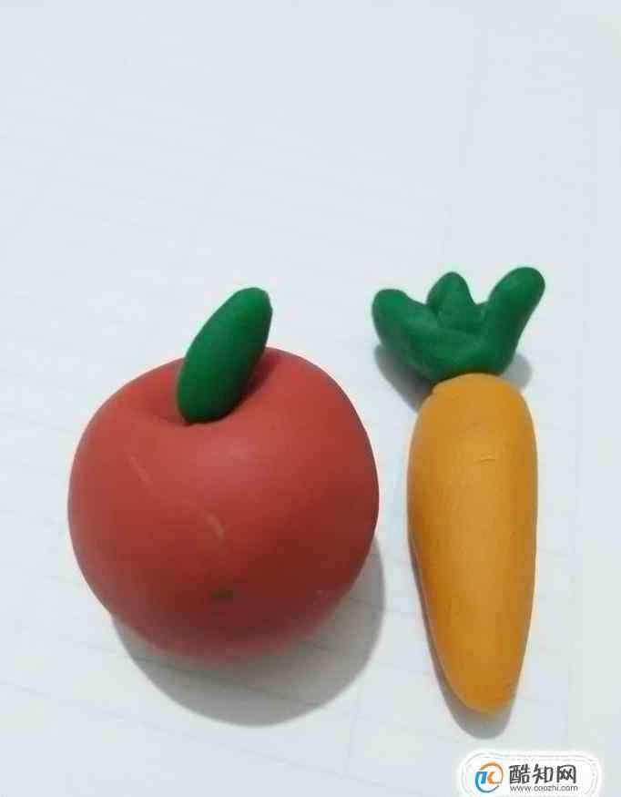 粘土做简单美食 一起来做超萌的粘土果蔬