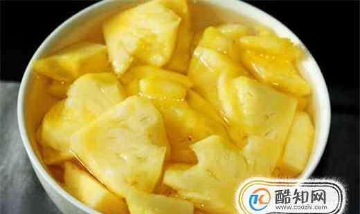 怎么吃菠萝 如何吃菠萝才健康?吃菠萝有哪些禁忌?
