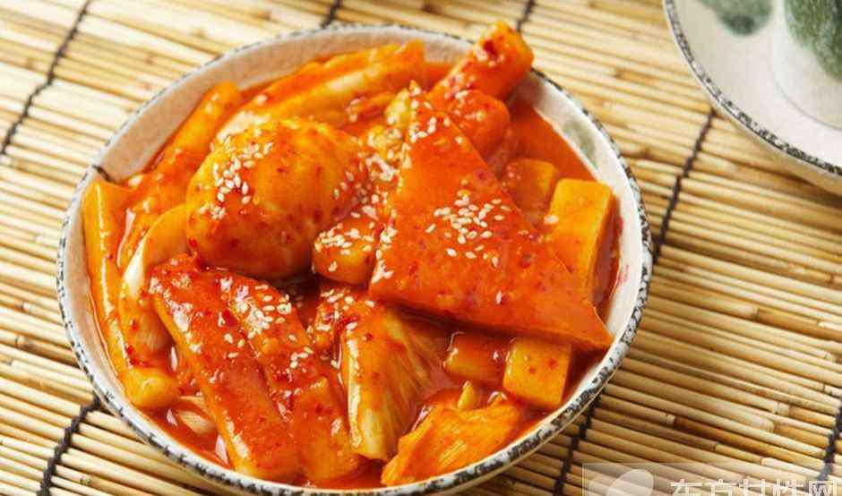 韩国炒年糕的做法大全 9步教你做出美味炒年糕