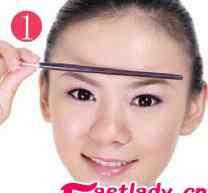 眉形设计 眉形设计之如何修整眉形
