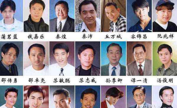 tvb男星 香港tvb老一辈男演员 各个老戏骨如今却发展无望
