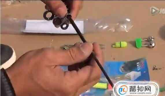 海竿组装图解 海竿的组装方法图解