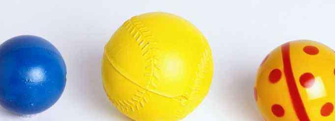 皮球 皮球为什么能弹起来?