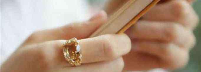 食指戒指 食指戴戒指什么意思?