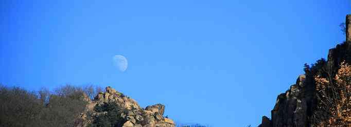 白天的月亮 为什么有时候白天也能看到月亮?