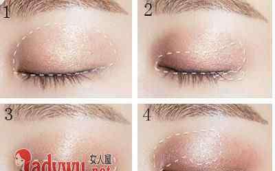 眼影怎么画 裸妆眼影怎么画 教你如何画出具有裸妆感的眼影