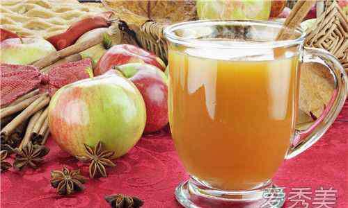 苹果汁减肥 苹果汁可以减肥吗 苹果和什么一起榨汁减肥