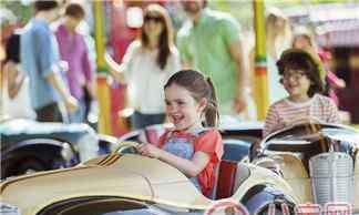 开心游乐场 带孩子去游乐园玩的心情句子 和孩子去游乐场玩开心的说说心情