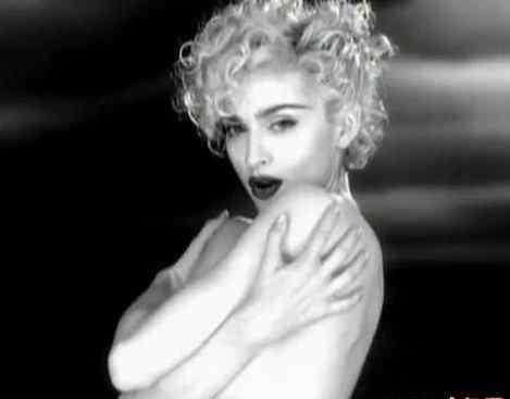 麦当娜年轻照片 老照片:[图文]麦当娜20年前广告老照片曝光