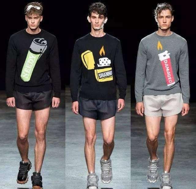 三分裤 男生夏天怎么穿显高 三分裤上身男生也能胸以下全是腿