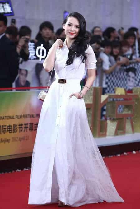 红白双煞 第二届北京电影节红毯秀 范冰冰章子怡红白双煞艳压群星