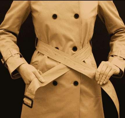风衣腰带系法图解 风衣腰带系法图解 简单易学的腰带系法还不快get