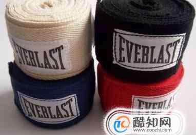 绑带 拳击手绑带(绷带)的正确使用方法(绑法)。