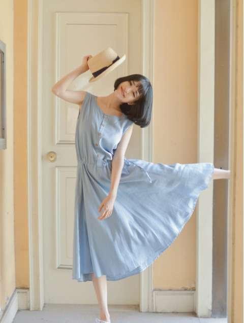 日系女装搭配 夏季甜美日系服装搭配 十足的文艺小清新