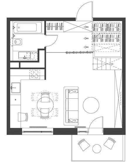 小户型装修收纳 35平米小户型装修 35㎡公寓这样收纳设计棒极了