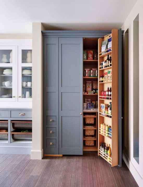 厨房收纳技巧 厨房收纳技巧 这样厨房收纳简直棒极了