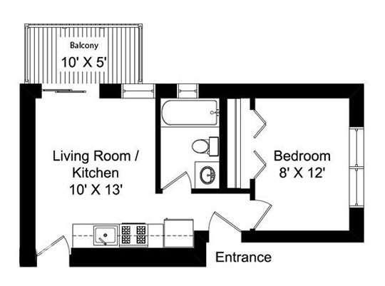 30平米小户型装修效果图 30平米小户型装修效果图 打造单身公寓摩登蜗居