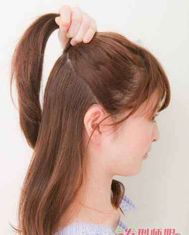 头发少怎么扎好看 头发少的女生怎么扎步骤图 头发少怎么扎头发好看图片