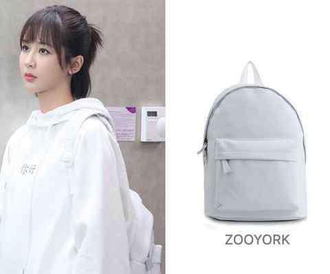 zooyork 佟年书包是什么牌子的 亲爱的热爱的杨紫同款背包好少女