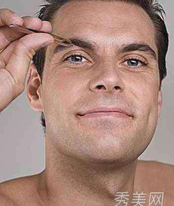 男生眉形 男士修眉毛技巧 教你根据脸型修眉形