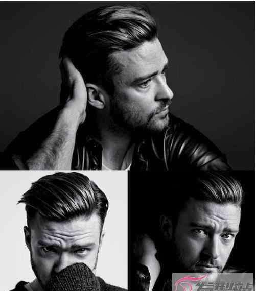 男生头大脸大发型图 男生脸大适合什么发型 大脸男士显气质才是发型重点