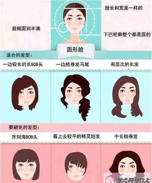 圆脸怎么变成瓜子脸 圆脸女生适合的发型图片 发型选对圆脸秒变瓜子脸