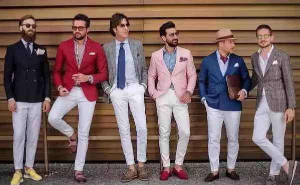 男士秋季搭配 秋天优雅男士搭配图片 型男们的优雅简单搭配
