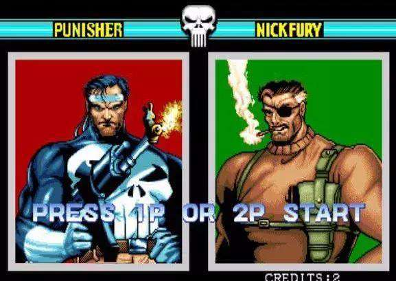 nickfury 热血街机游戏《惩罚者》中的2P你知道是谁吗?