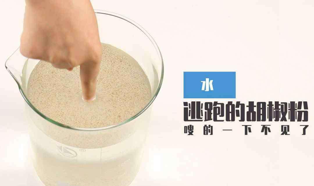 胡椒粉是什么 胡椒粉和洗洁精的实验是什么原理 探寻事情的真相